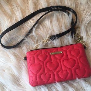 Fun Betsey Johnson purse w charger